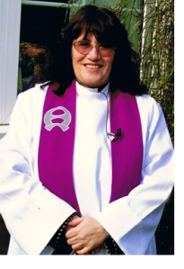 The Venerable Anne Dawtry - Archdeacon of Halifax.