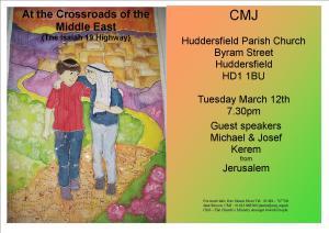 A4 Flyer St Peter's Huddersfield