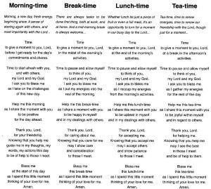Lent prayers 2