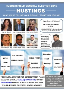 Hustings 2015 - WhatsApp