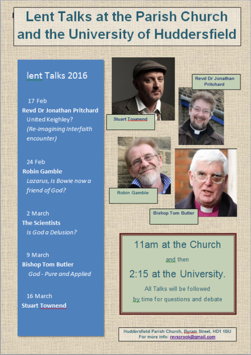 Lent Talks