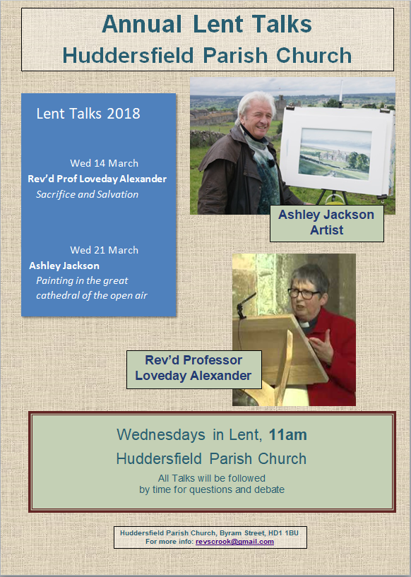 Lent Talks 2
